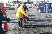 乗務員教育:消防訓練
