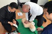 乗務員教育:救急救命訓練